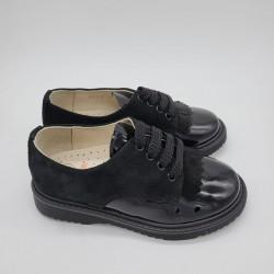 Zapato oxford en azul o negro